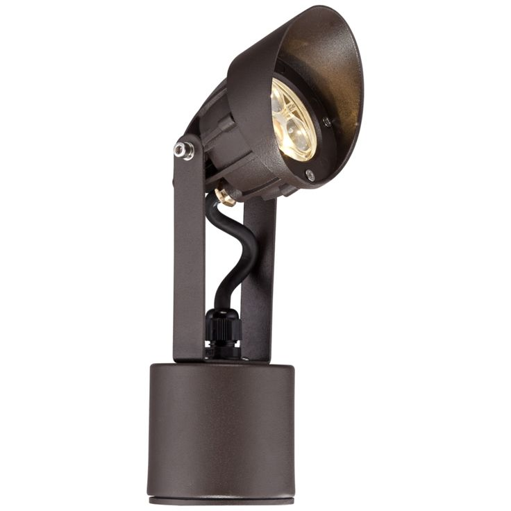 "Super Duty 9"" High Bronze LED Spot Light - Style # 2W570"
