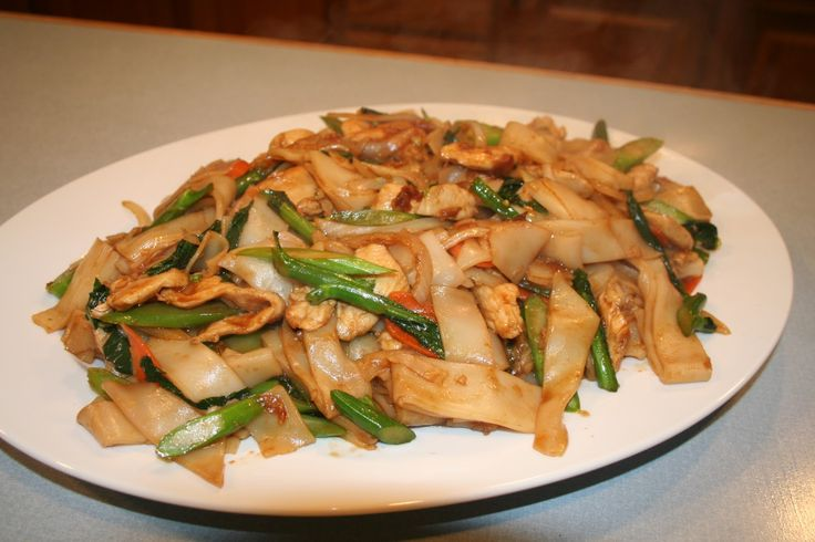 Chow Fun: Try our delicious versions of these dishes at Sacramento, CA's Hing's Chinese Restaurant: http://hingsmadison.com/