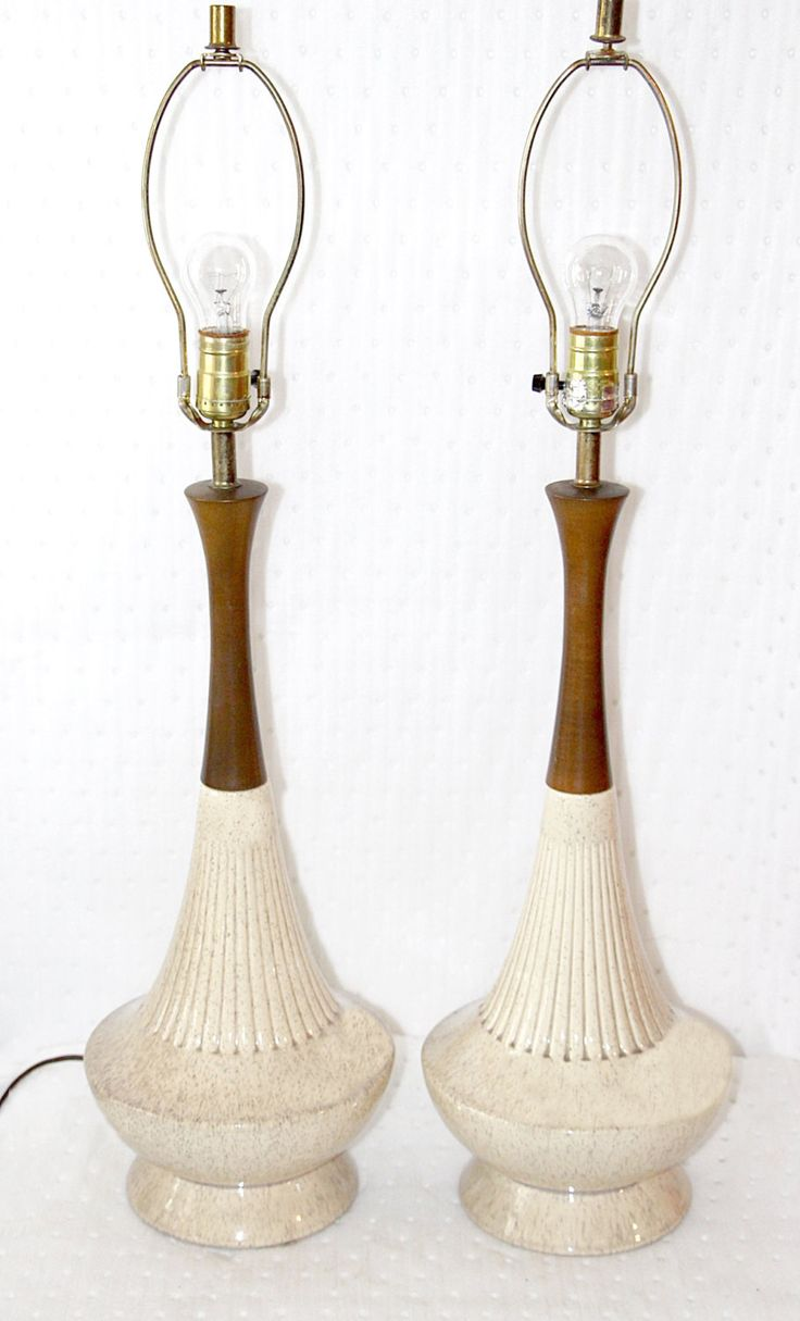 169 best LAMPS LAMPS VINTAGE TABLE LAMPS images on Pinterest