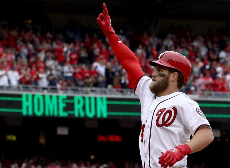 Seven most impressive young cornerstone players in MLB today  -  April 21, 2017:     Bryce Harper, outfielder, Washington Nationals