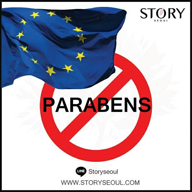 Story Seoul Skincare products does not contain parabens and other toxic ingredients.  We believe in healthy beauty by using quality ingredients derived from nature.   European Union announced restricting the use of  parabens in Sept 2014.