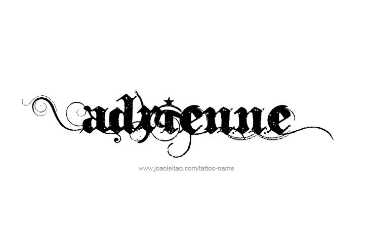 """ADRIENNE GENDER: Feminine USAGE: French PRONOUNCED: ad-ree-EN   [key] Meaning & History French feminine form of ADRIAN meaning """"from Hadria"""""""