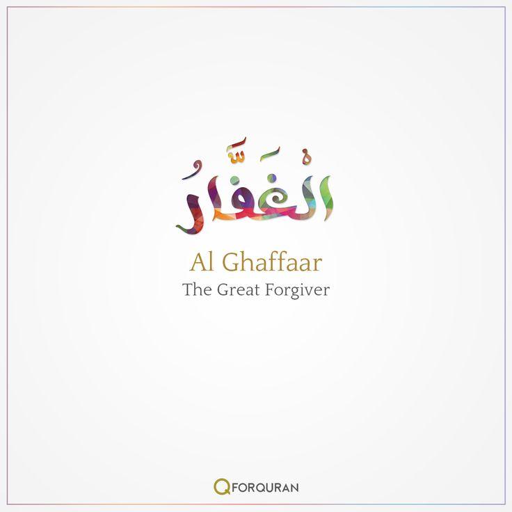 Al Ghaffaar-The Great Forgiver