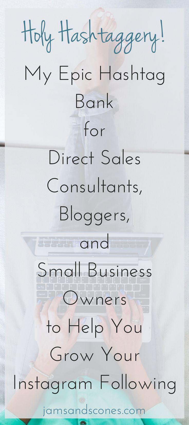 An epic list of hashtags for all sorts of business niches | direct sales | small business | Instagram