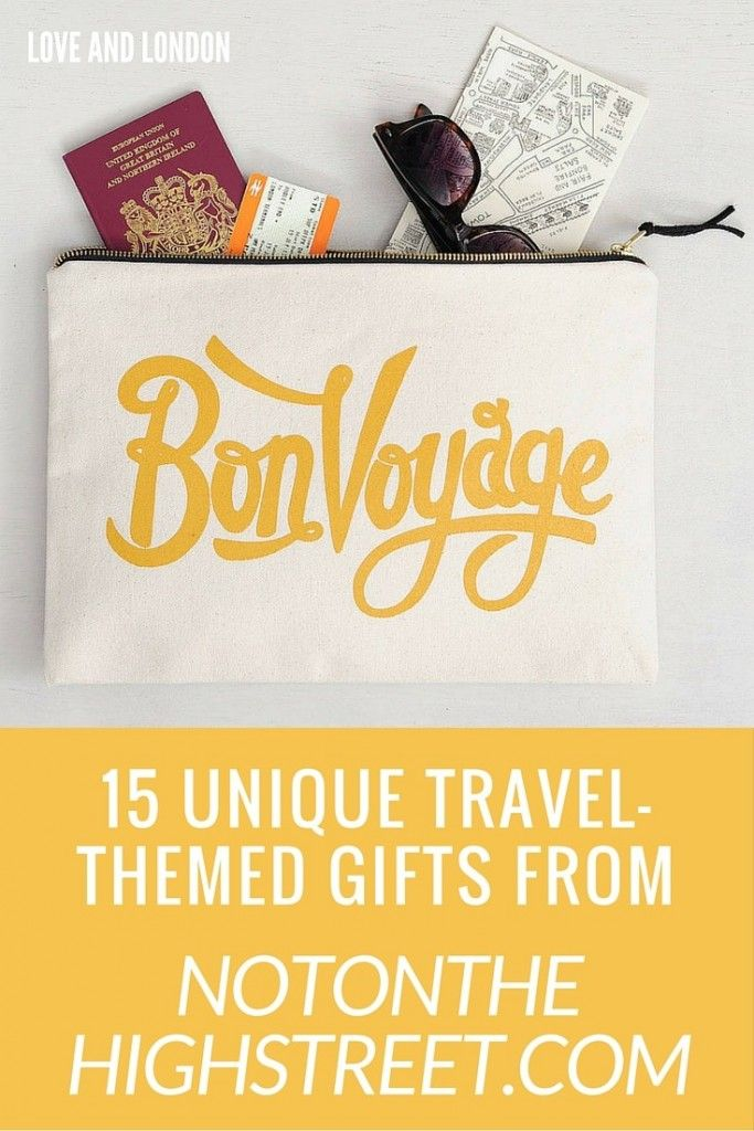 93 best gift ideas for travel lovers images on pinterest best 15 unique travel themed gifts from not on the high street m4hsunfo