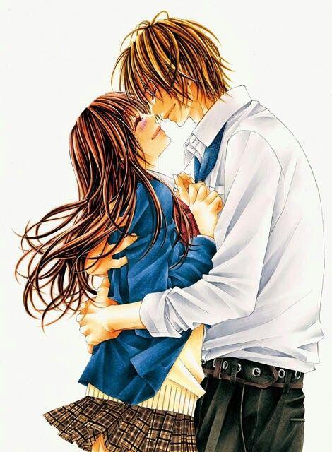 Manga couple, anime couple, Tsubaki & Tsubaki, lovely manga KYOU, KOI WO HAJIMEMASU