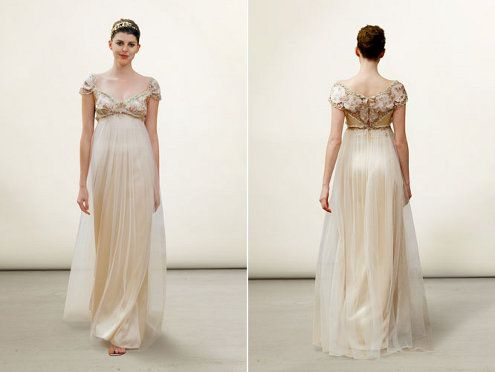 17 Best images about Empire Waist Wedding Gowns on Pinterest  One ...