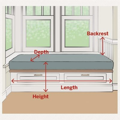 Window-Seat Dimensions                                                                                                                                                                                 More