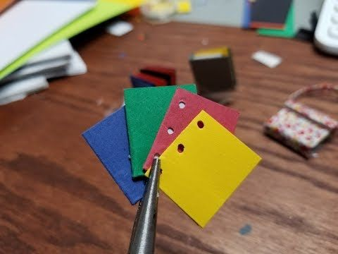 1 Minute DIY Series - Dollhouse Miniature Madness and Tutorials