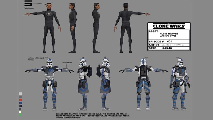 ARC Trooper Fives- perhaps my favorite clone trooper!