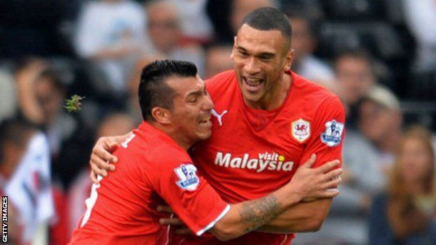 Cardiff City: Gary Medel & Steven Caulker could go after relegation - Article From BBC Website - http://footballfeeder.co.uk/news/cardiff-city-gary-medel-steven-caulker-could-go-after-relegation-article-from-bbc-website/