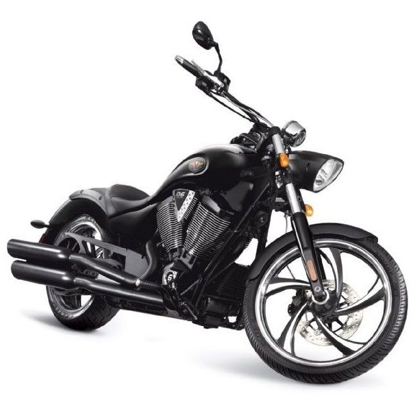 2011 Victory Motorcycles Preview Vegas 8 Ball found on Polyvore