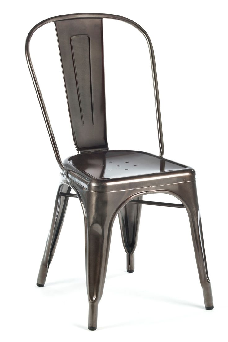 24 best Kitchen Chairs -- Gun Metal images on Pinterest | Side ...