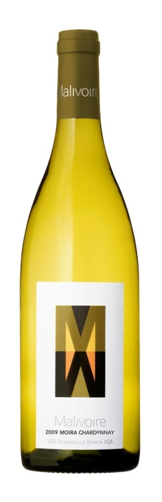 Malivoire Wine Company's 2009 Moira Chardonnay, Beamsville, Ontario.