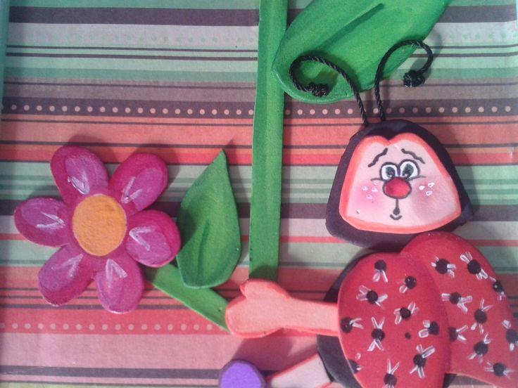 11 best goma eva images on pinterest jelly beans - Trabajos en goma eva ...