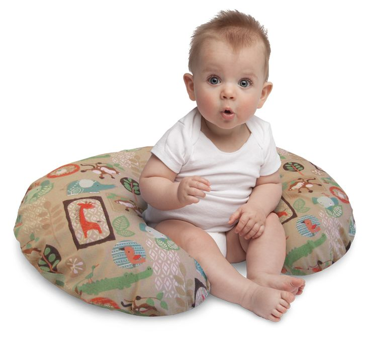 Boppy - This versatile pillow lifts baby to a more ergonomic position for comfortable feedings, then transitions to the perfect spot for propping, tummy time and learning to sit. Comes with a slipcover that is removable for easy washing.  #bigbabybasketsweeps