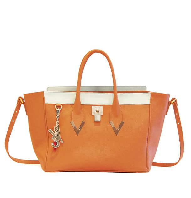 #V73 Elisir Orange Bag #Shop online: https://www.v73.us/pelli-pregiate/elisir/346-elisir-orange