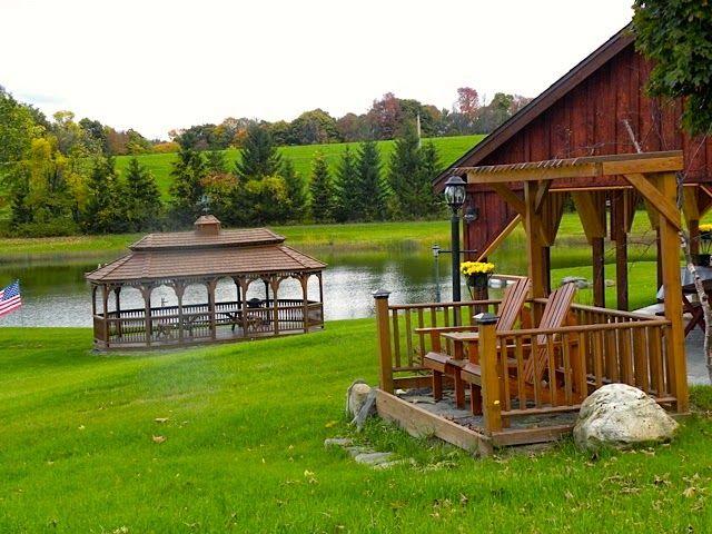 Numerous Relaxing Sitting Areas Hamilton Ny Outdoor Weddings Peacefulinesbandb