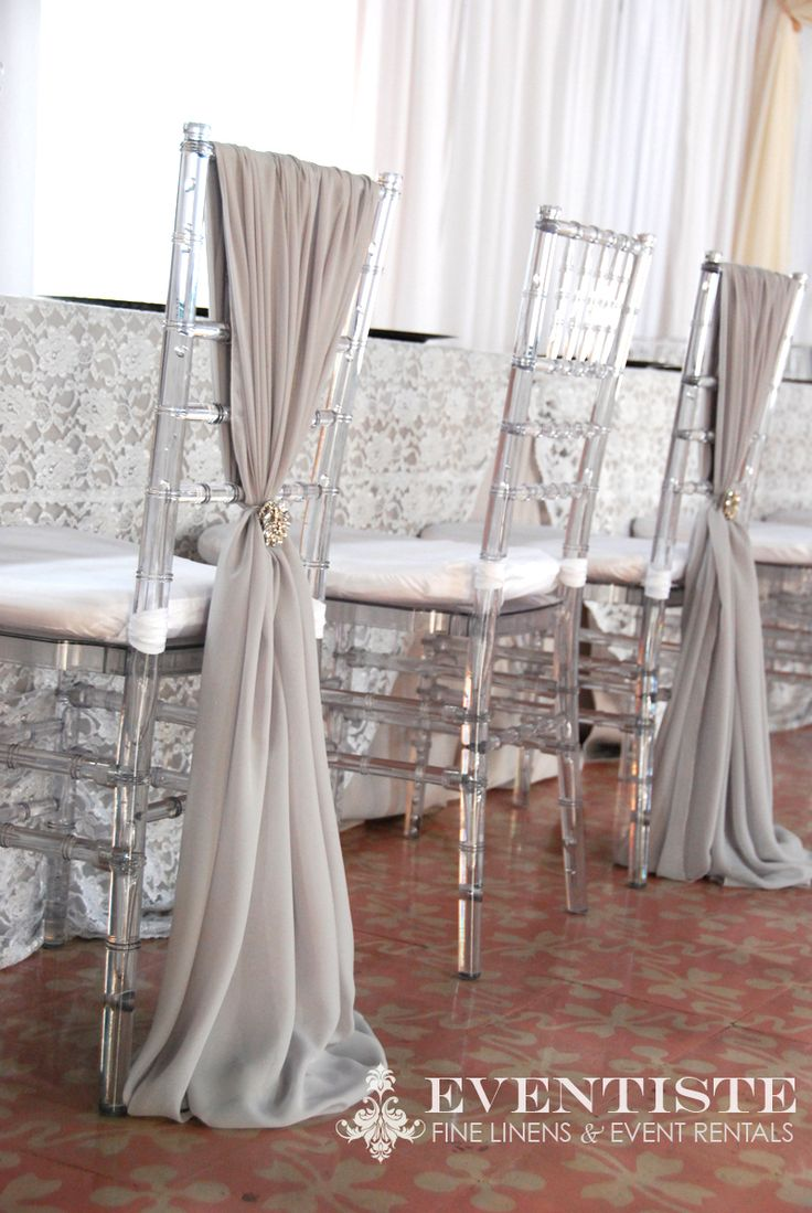Melissa Chair Covers for her Bridesmaids