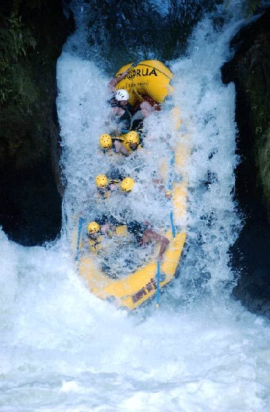 Wow! Now that is some serious rafting! repin this if you have enough courage to try this! at Rishkesh