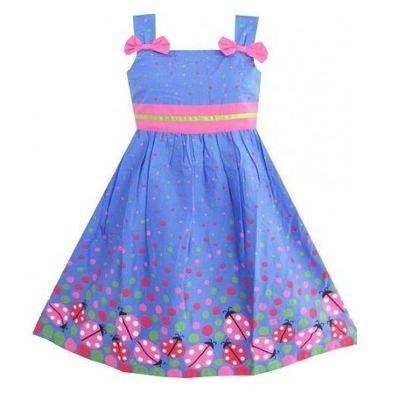 modelos de vestidos para niñas de 6 años casuales