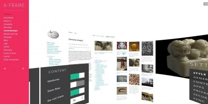 Lee A-Frame, para crear aplicaciones de Realidad Virtual
