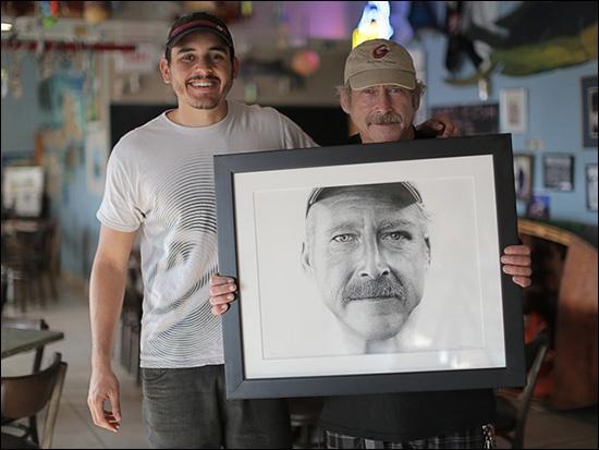 Portrait Made of 2.1 Million Ink Dots!!- an Inspirational Story of Amnesiac Benjaman Kyle.