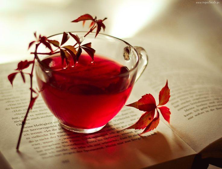Czerwona ,Herbata, Książka