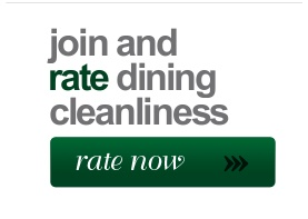 Rate and review restaurants based on cleanliness at http://www.dininggrades.com: Rate Restaurant, Review Restaurant, Restaurant Ratingsreview, Restaurant Ratings Review, Restaurant Based, Restaurant Rate Review