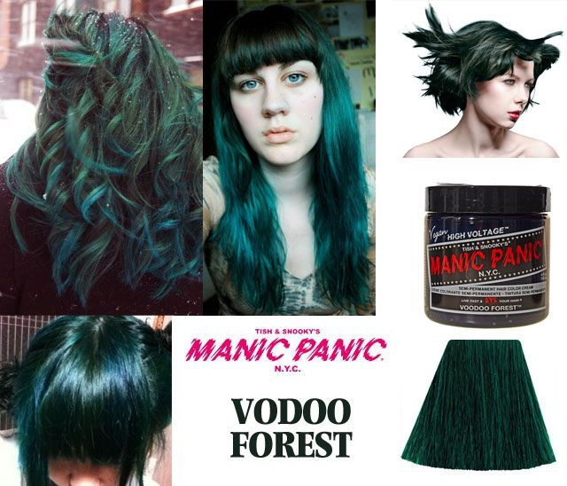 Rockabilly Blue Manic Panic Dark Hair