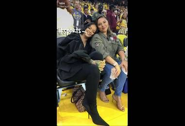 Let's Be Clear, Rihanna Is The Real MVP Of The NBA Finals!