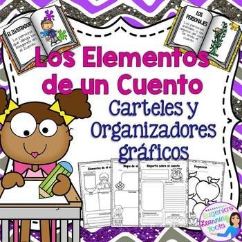 FREEBIE!!! This product will help you reinforce reading comprehension skills we need our kids to work on daily, all you have to do is provide the story. Get those Read-alouds together and lets get started! This product contains 6 posters illustrating story elements and their definition as well as 4 school themed graphic organizers.I'm free, don't forget to rate me!