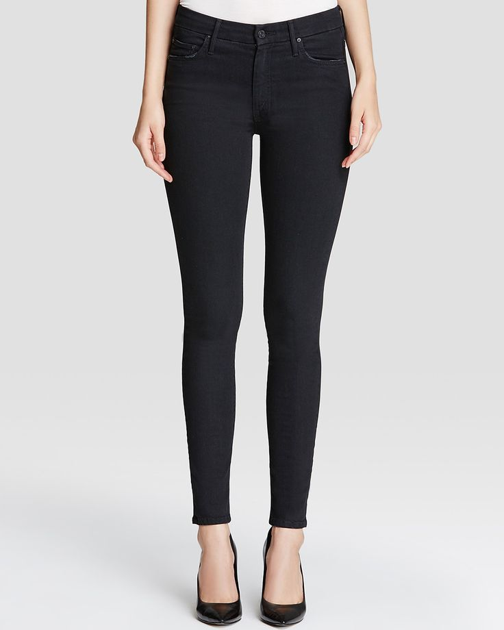 MOTHER High Waisted Looker in Not Guilty | Bloomingdale's