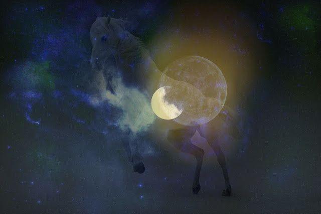 Le Cheval en Soi: Le cheval, le soleil et la lune