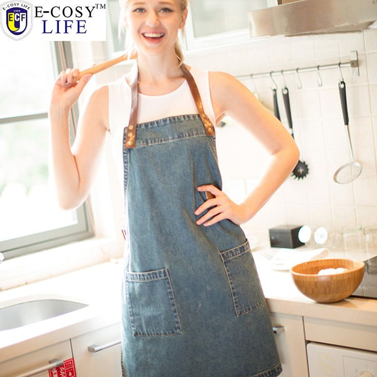 Find More Aprons Information about New Free Shipping Kitchen Apron Denim Sleeveless Sexy Aprons Korean Naked Work Cooking Apron For Food  Watetproof Chef Apron,High Quality apron kids,China apron suppliers Suppliers, Cheap apron plastic from E-COSYLIFE AESTHETIC HOME TEXTILE on Aliexpress.com