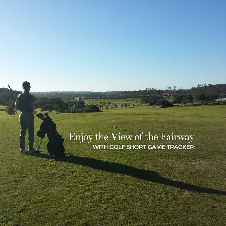 """""""Enjoy the view of the fairway! Download the Golf Short Game Tracker at http://www.golfshortgametracker.com…"""""""
