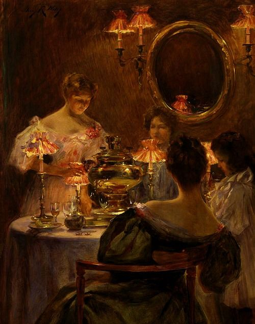 Irving R. Wiles Russian Tea 1896