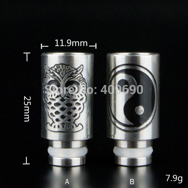 Stainless steel Drip Tip Wide bore stainless steel mouthpiece fit ego ce4 ce5 510 Atomizer | Price: US $4.50 | http://www.bestali.com/goto/32249888279/10