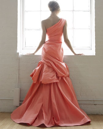 Dream dress in Coral
