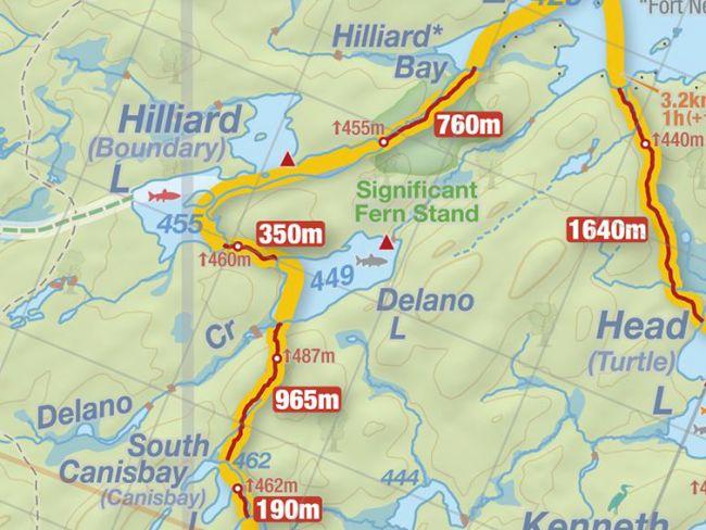 Delano Lake, Jeff's Map http://www.algonquinmap.com/index.html
