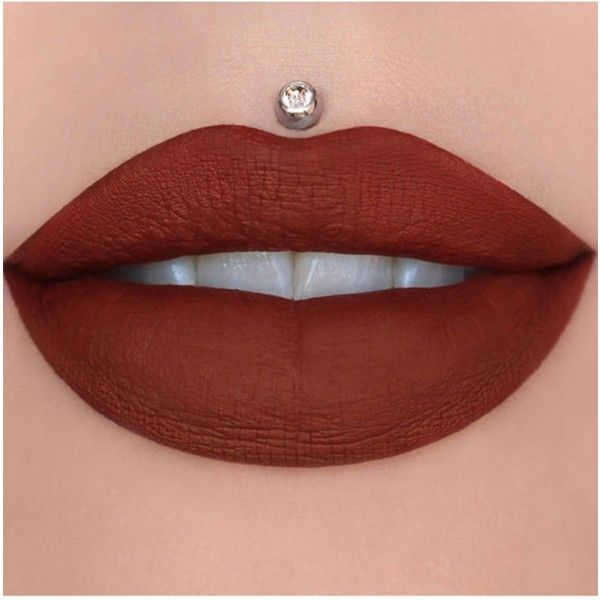 Jeffree Star Cosmetics Jeffree Star Liquid Lipstick ($22) ❤ liked on Polyvore featuring beauty products, makeup, lip makeup, lipstick, lips, beauty, designer blood and paraben-free lipstick