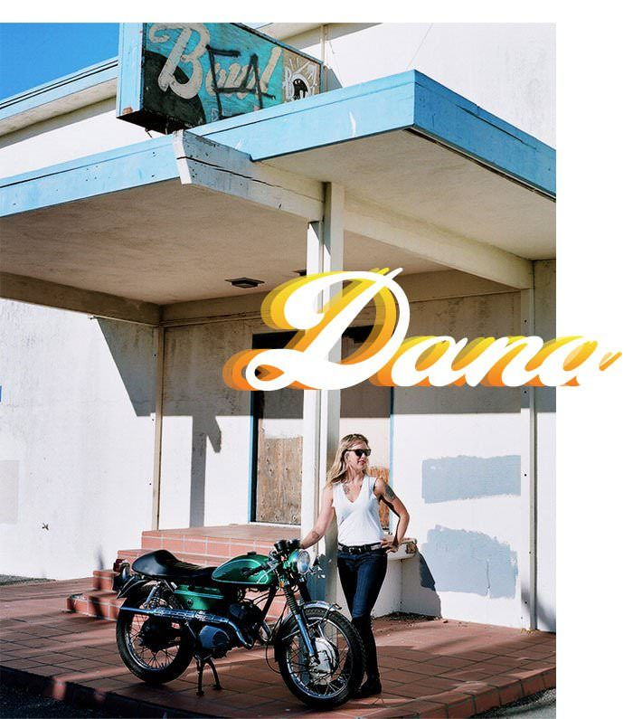 Dana - marine biologist and cool chick ;-)