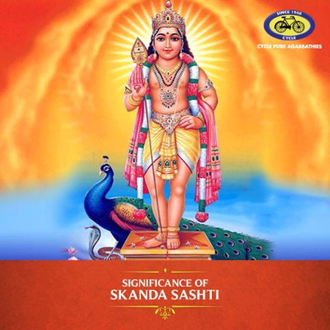Skanda Sashti, a day in honour of Lord Murugan. The festival falls on the sixth day of every lunar fortnight in the Hindu calendar. It commemorates the victory of Lord Murugan over evil. A special six-day fast is observed by devotees before the festival which is celebrated with great fervour in South India. #PureDevotion #SkandaSashti