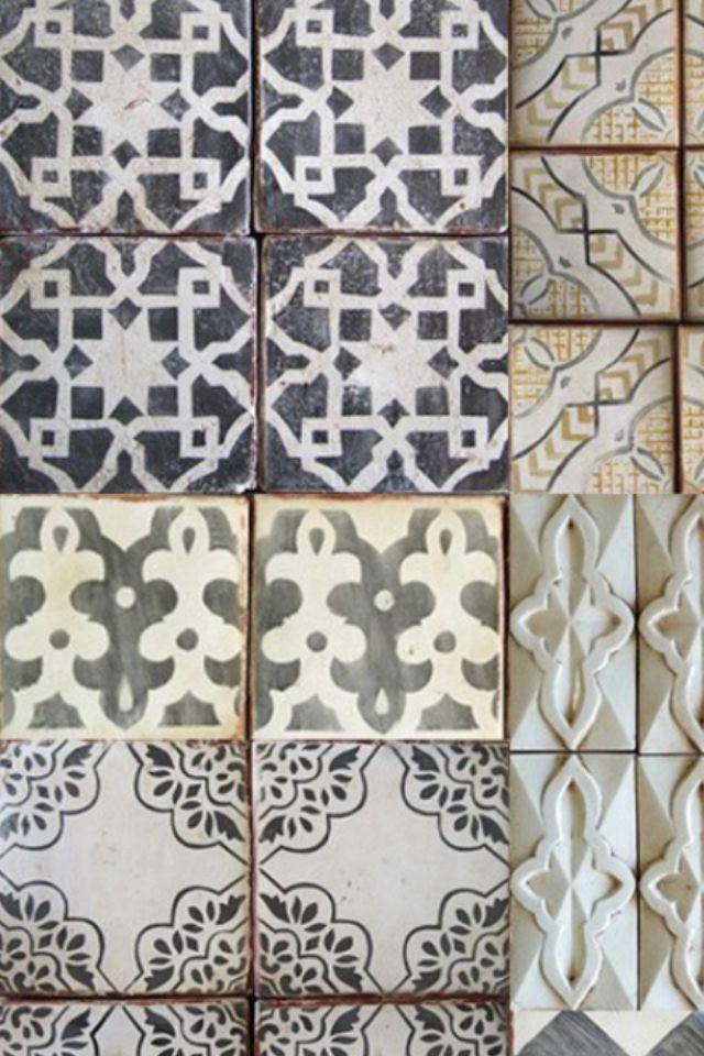 1000 images about carreau de ciment on pinterest - Carreau de chaise ...
