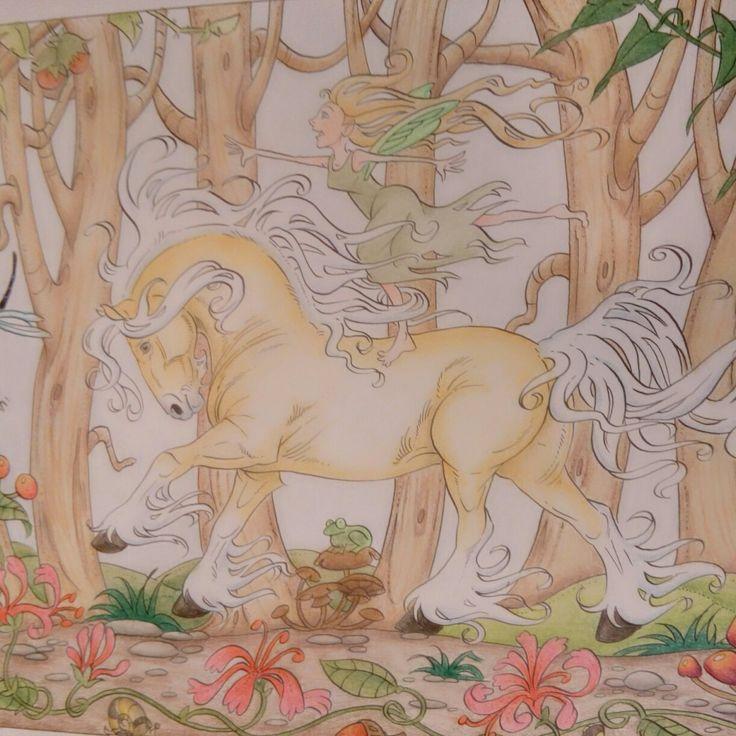 #coloringbylinda #lenafurberg #coloringhorses