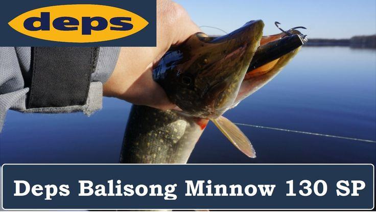Deps Balisong Minnow 130 SP: лучший воблер на щуку всех времён и народов