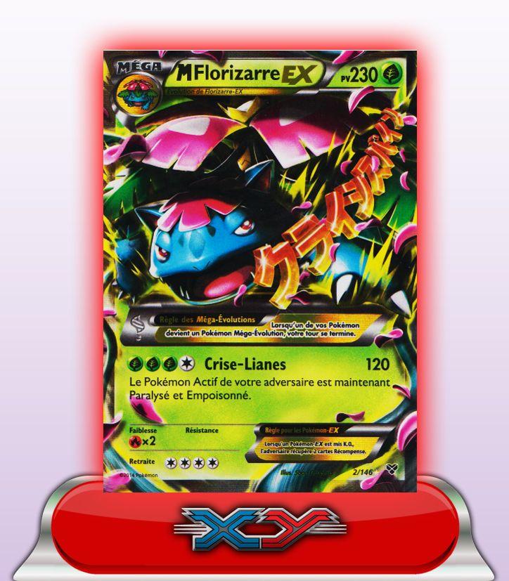 41 best xy1 fr xy images on pinterest cartes pokemon - Mega florizarre ...