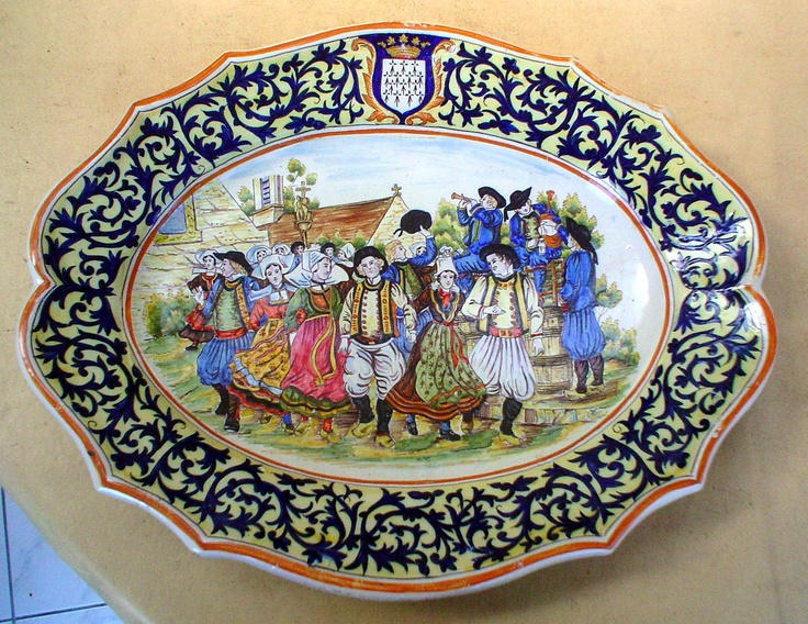 68 best images about rouen desvres french faience on - Faience de desvres ...