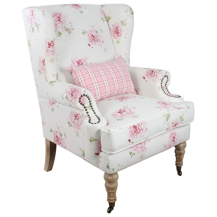 Amazing fabric #armchair in #floral style. www.inart.com