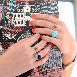 Une bague avec des perles - Marie Claire Idées